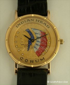 Corum Watches Indian Head Watchbox Knokke Antwerp
